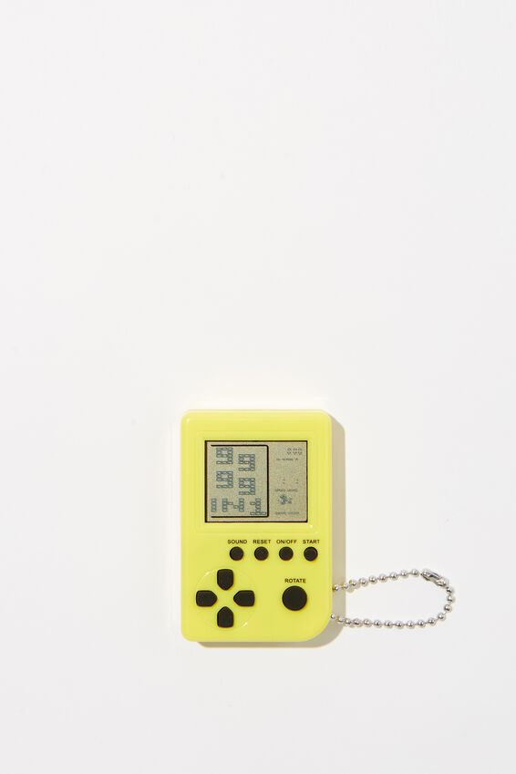 Retro Pocket Gamer, YELLOW