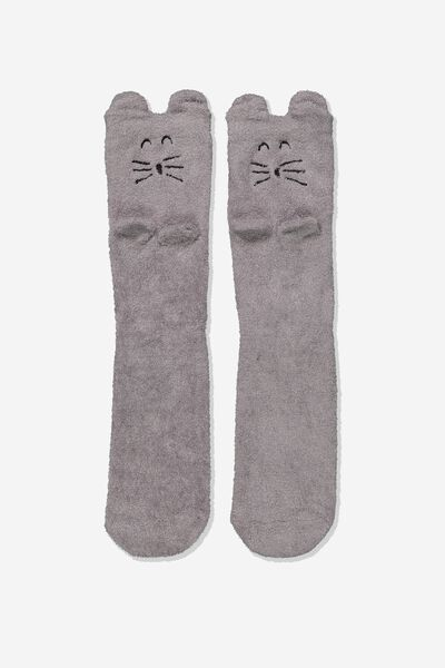 Long Slipper Socks, FLUFFY