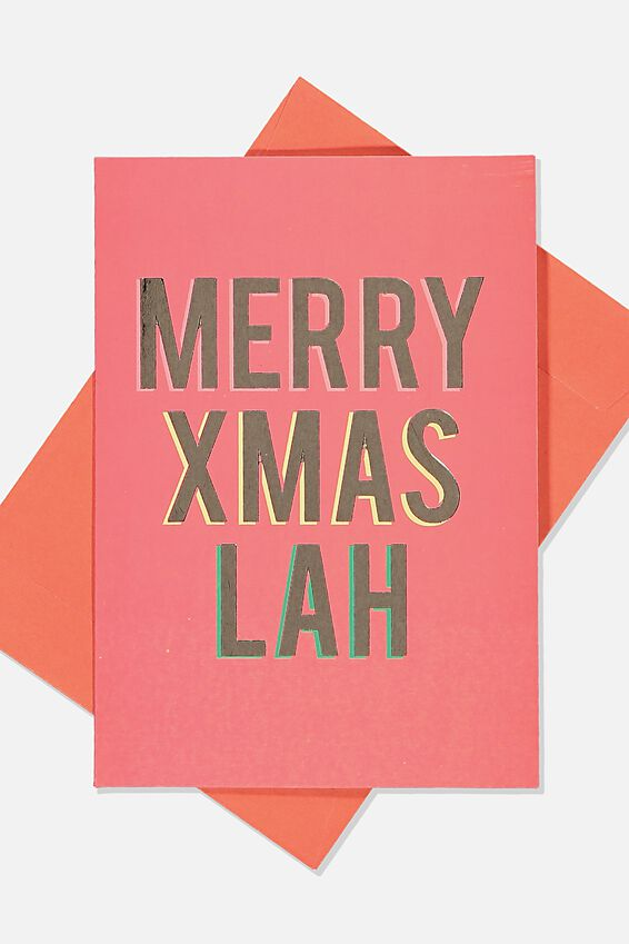 Christmas Card 2019, XMAS LAH