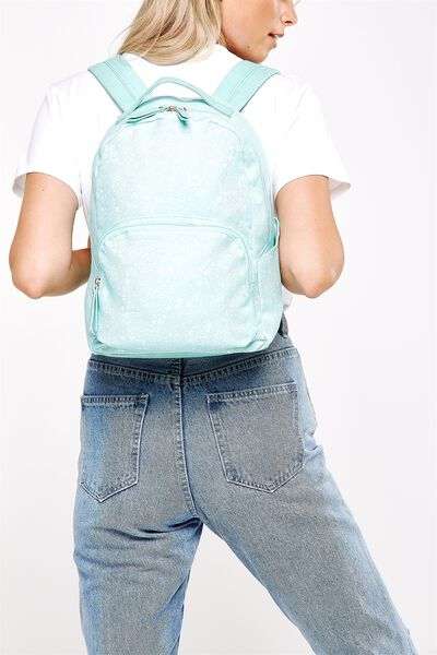 Get Set Backpack, BLUE LACE