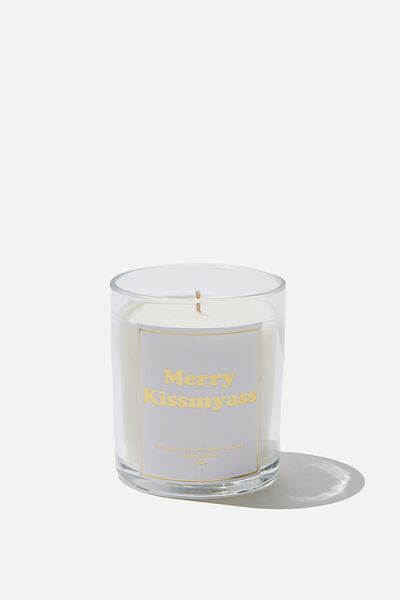 Quote Candle, MERRYKISSMYASS!