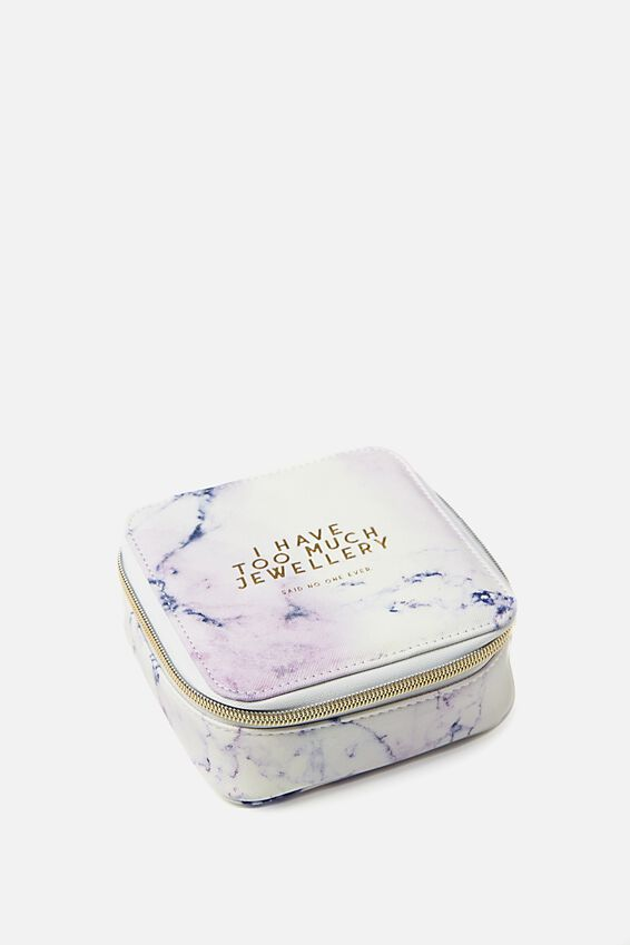 Jewellery Wallet, LUSH MARBLE