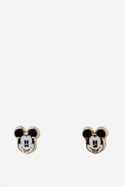 Novelty Earrings, LCN MICKEY HEAD
