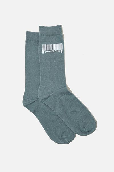 Socks, BARCODE SO OVER THIS