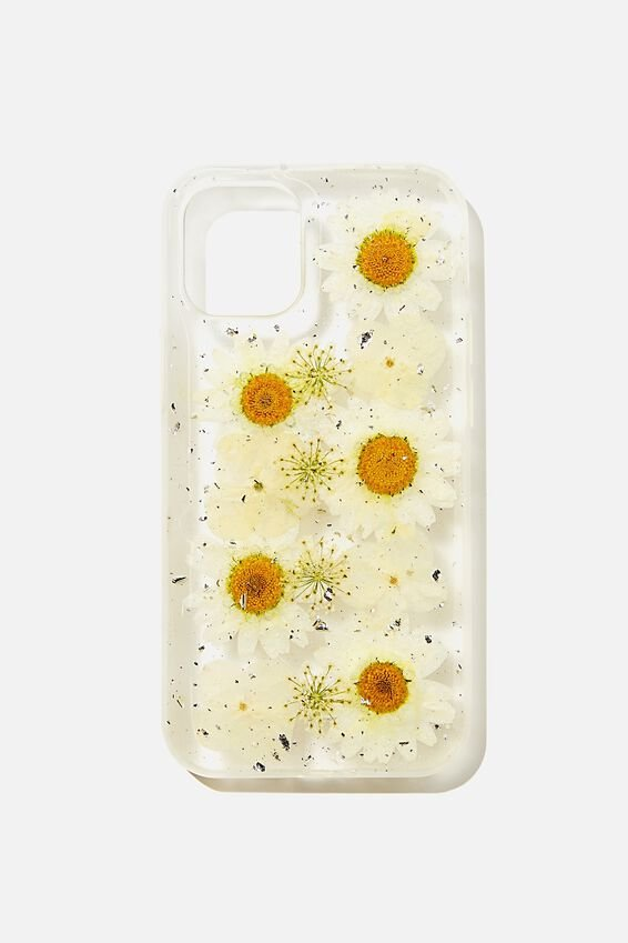 Protective Phone Case Iphone 12 Mini, TRAPPED DAISY