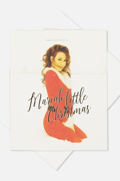 2018 Christmas Card, LCN MARIAH LITTLE CHRISTMAS