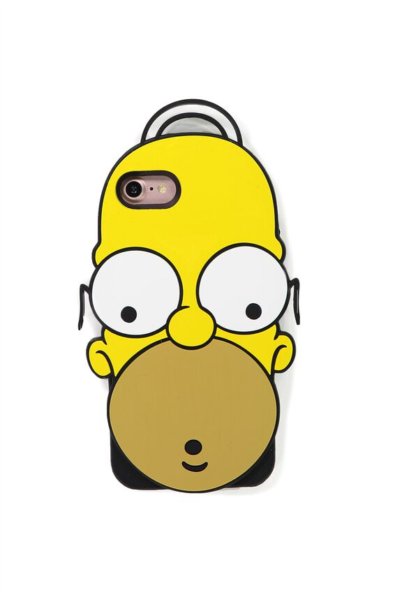 Shaped Silicon Phone Cover 7, 8, LCN HOMER