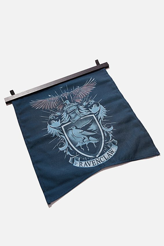 Harry Potter Banner Wall Flag, LCN WB HP RAVENCLAW