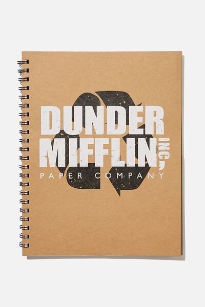 A4 Campus Notebook Recycled, LCN UNI DUNDER MIFFLIN OFFICE