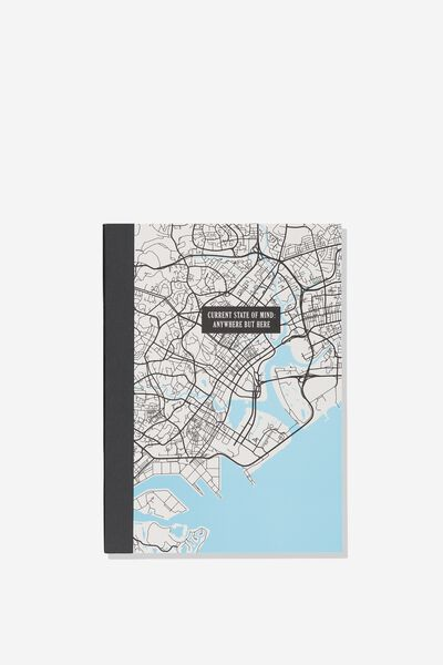 A5 Graduate Journal, MAP STATE OF MIND
