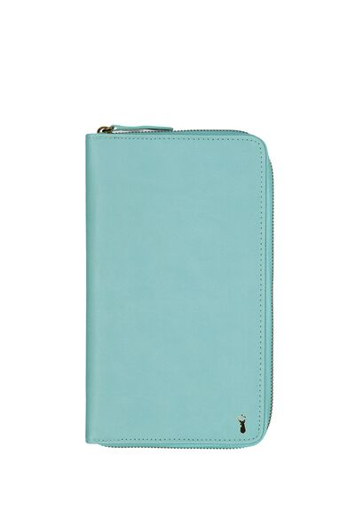 Buffalo Travel Wallet, BLUE