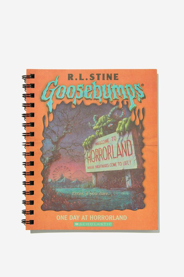 A5 Campus Notebook Recycled, LCN SON GOOSEBUMPS HORRORLAND