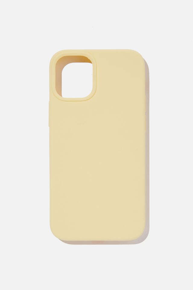 Recycled Phone Case Iphone 12 Mini, SOFT BUTTER
