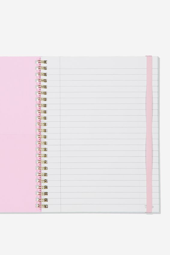 A5 Spinout Notebook Recycled, ICONIC TIMES