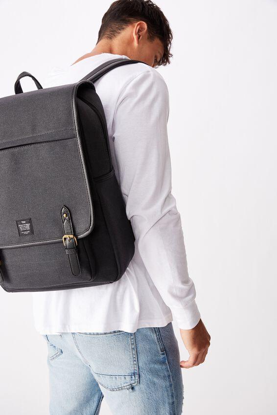 Heritage Backpack, WASHED BLACK