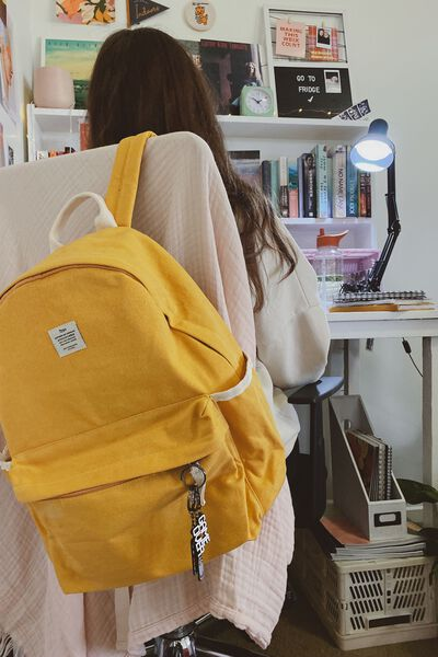 Fundamental Backpack, MUSTARD