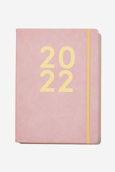 2022 A4 Daily Buffalo Diary, DUSTY LILAC