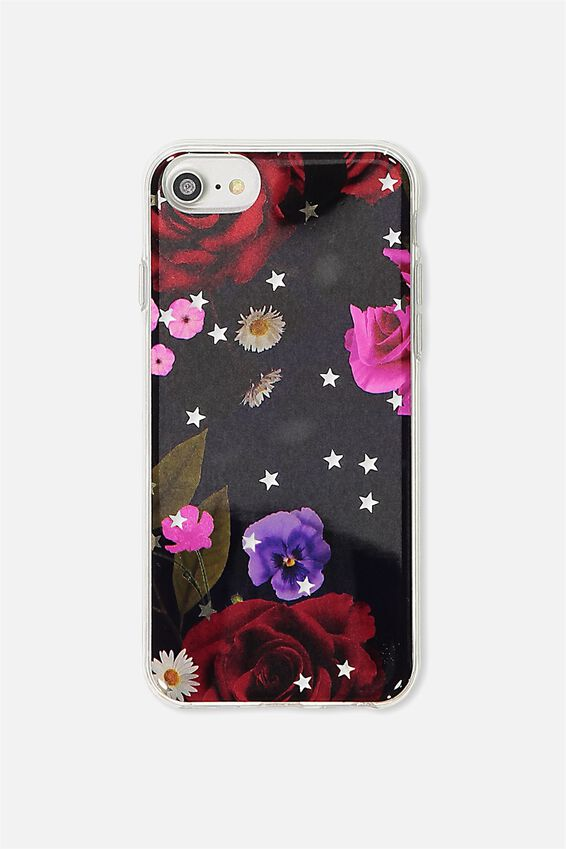 Printed Phone Cover Universal 6,7,8, STAR FLORAL
