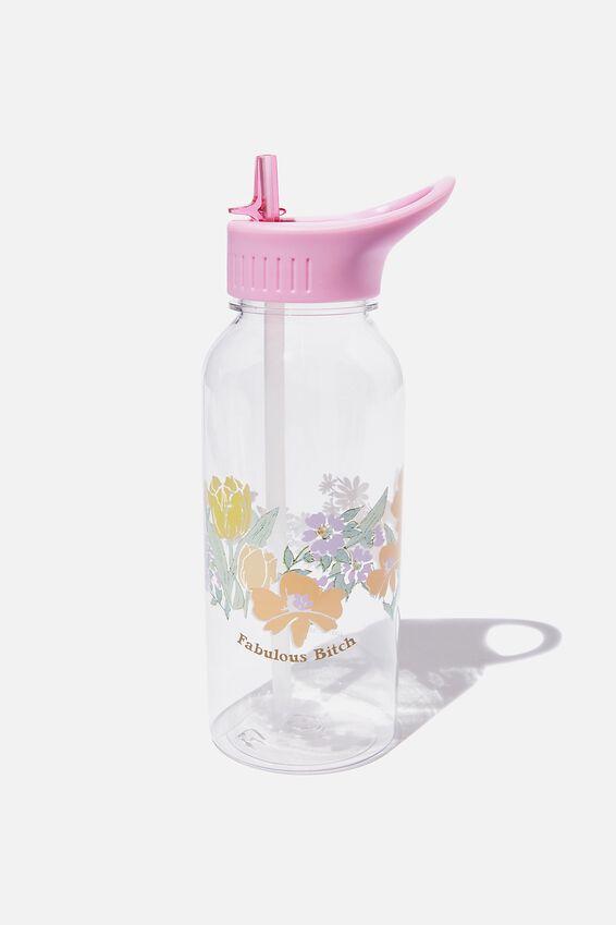 Drink It Up Bottle, FLOWER WREATH!