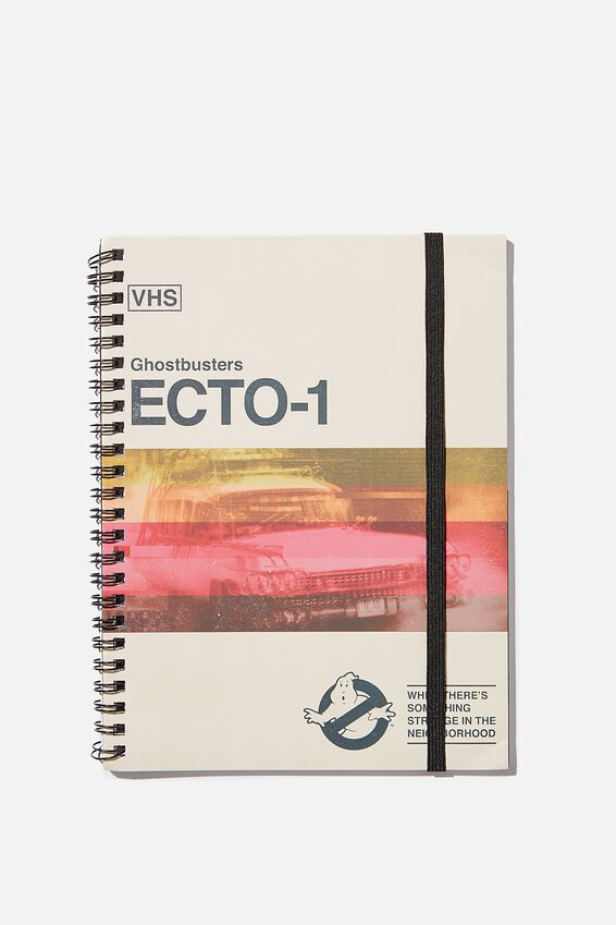 A5 Spinout Notebook Recycled, LCN SON GHOSTBUSTERS ECTO-1
