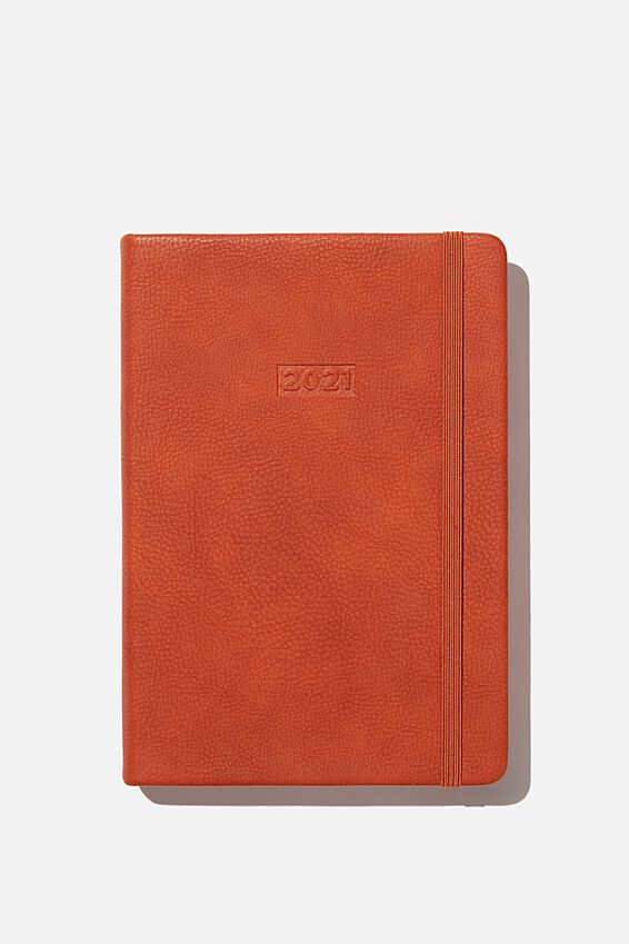 2021 A5 Daily Buffalo Diary, RUST