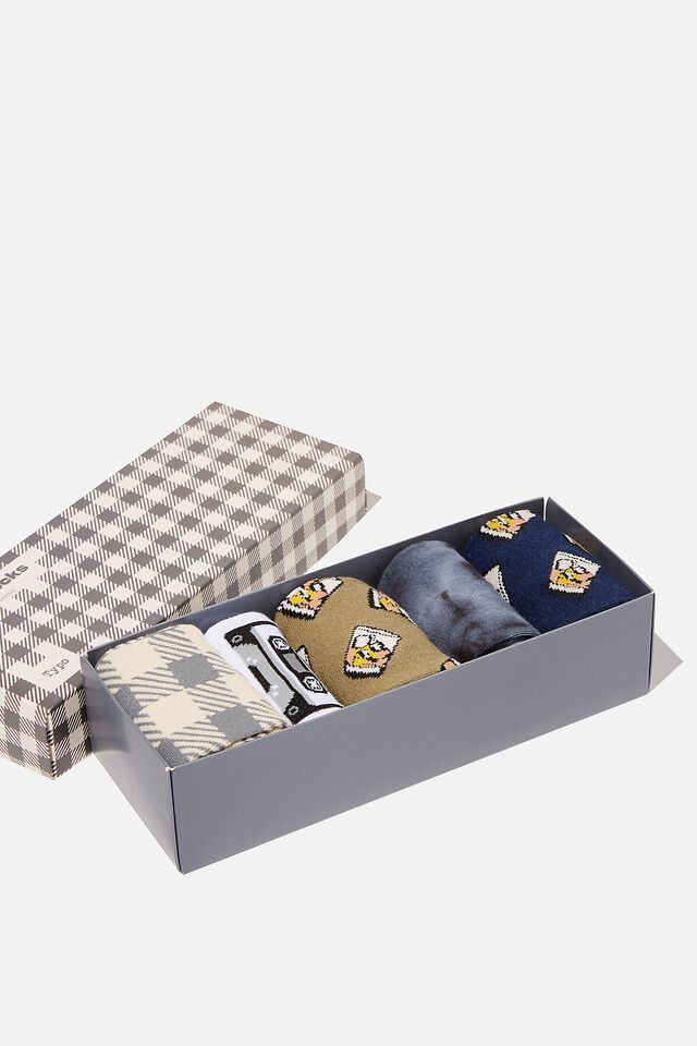 Box Of Socks, MUSIC & WHISKEY! (M/L)