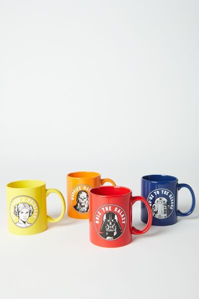 Anytime Mugs Set, LCN STAR WARS