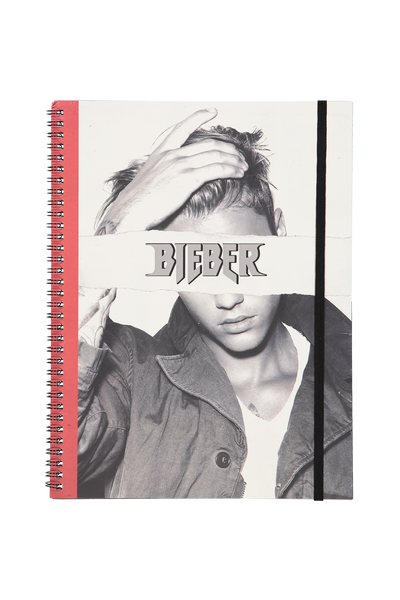 A4 Spinout Notebook - 120 Pages, LCN BIEBER