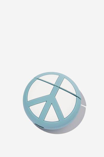 Ear Bud Sleeve, PEACE