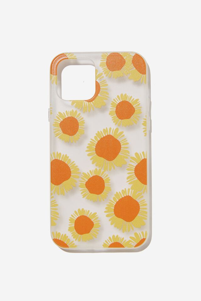 Protective Phone Case Iphone 12, 12 Pro, SUNFLOWER