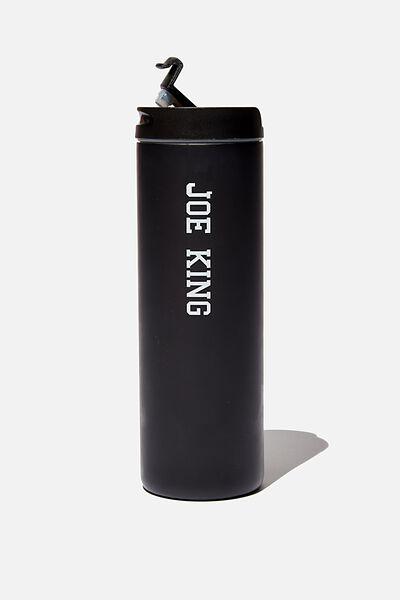 Personalisation Travelling Tea Drinker, BLACK