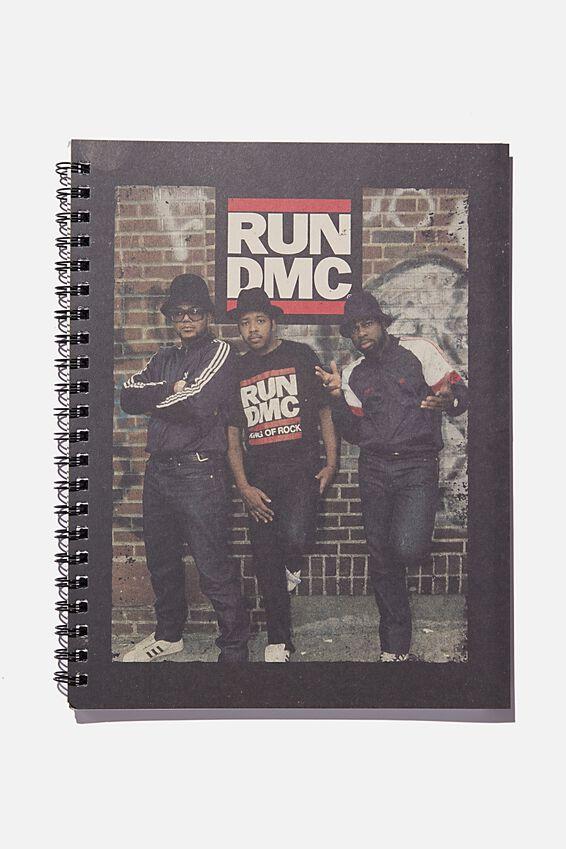 College Ruled Campus Notebook, LCN BRA RUN DMC POSTER