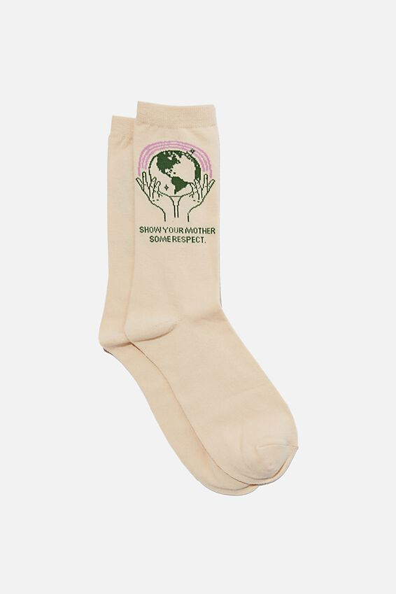 Socks, RESPECT YOUR MOTHER