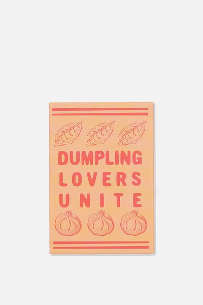 Quirky Magnets, DUMPLING LOVERS