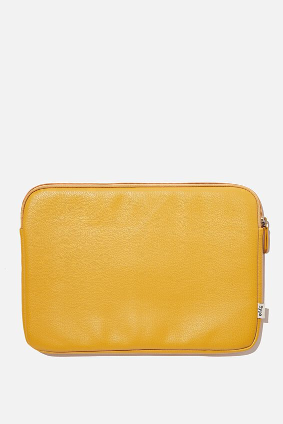 Take Charge 13 Inch Laptop Cover, STEVIE FLORAL WITH MUSTARD