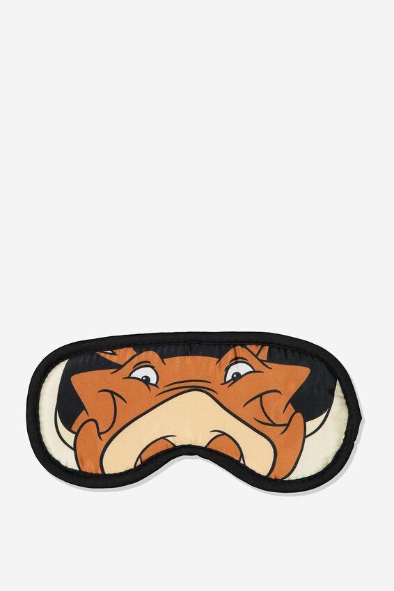 Lion King Sleep Eye Mask, LCN DIS PUMBAA