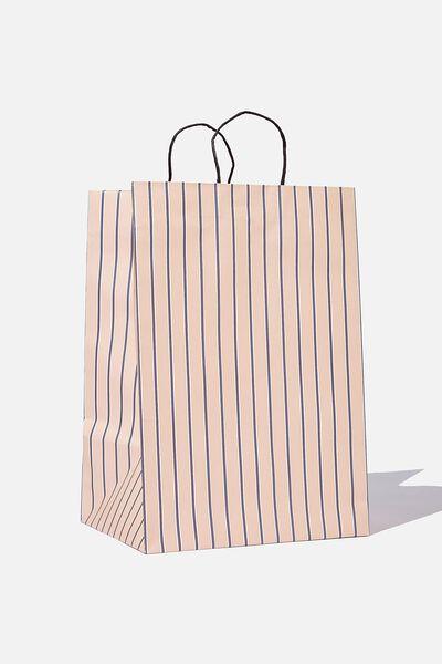 Get Stuffed Gift Bag - Large, JUSTIN STRIPE