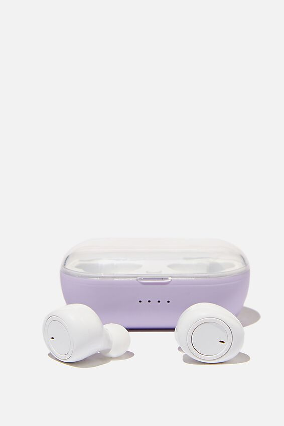 Wireless Earbuds, PALE LILAC