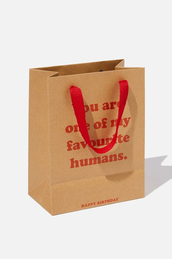 Small Stuff It Gift Bag, CRAFT FAV HUMAN
