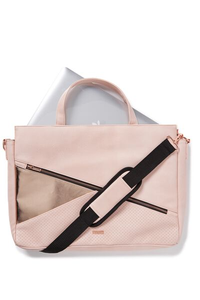 Premium Laptop Bag 15 Inch, ROSE GOLD
