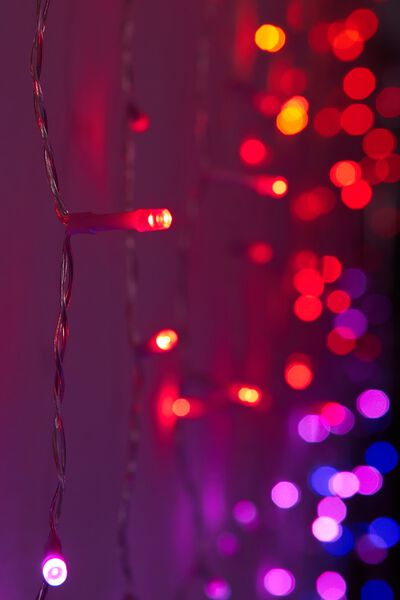 Cascading Lights, PINK MULTI