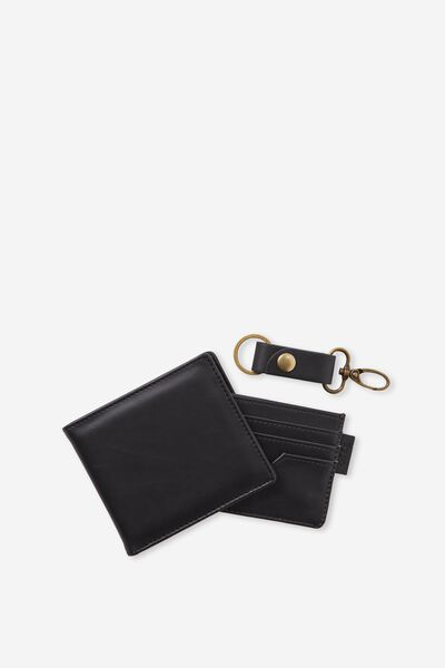 Wallet Set, BLACK