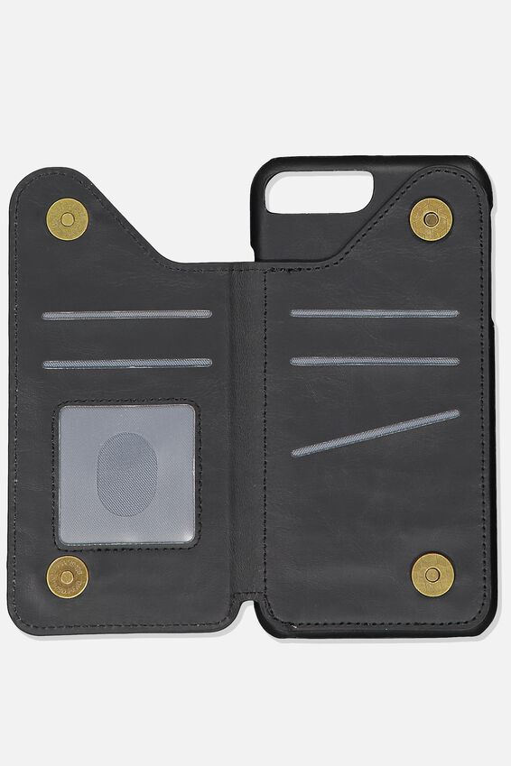 Multi Cardholder 6, 7, 8 Plus, BLACK
