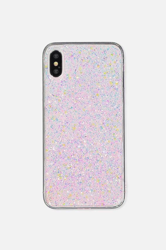 Printed Phone Cover X, PINK FOILING