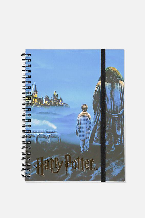 Small Harry Potter Spinout Notebook - V, LCN WB HPO HARRY & HAGRID