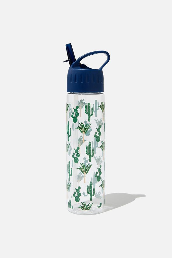 The Refresher Drink Bottle, CACTUS PRINT