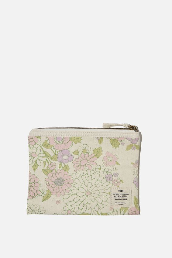 Daily Campus Case, MINT PINK MOLLY FLORAL
