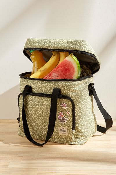 Day For It Cooler Bag, GUM LEAF MEADOW DITSY