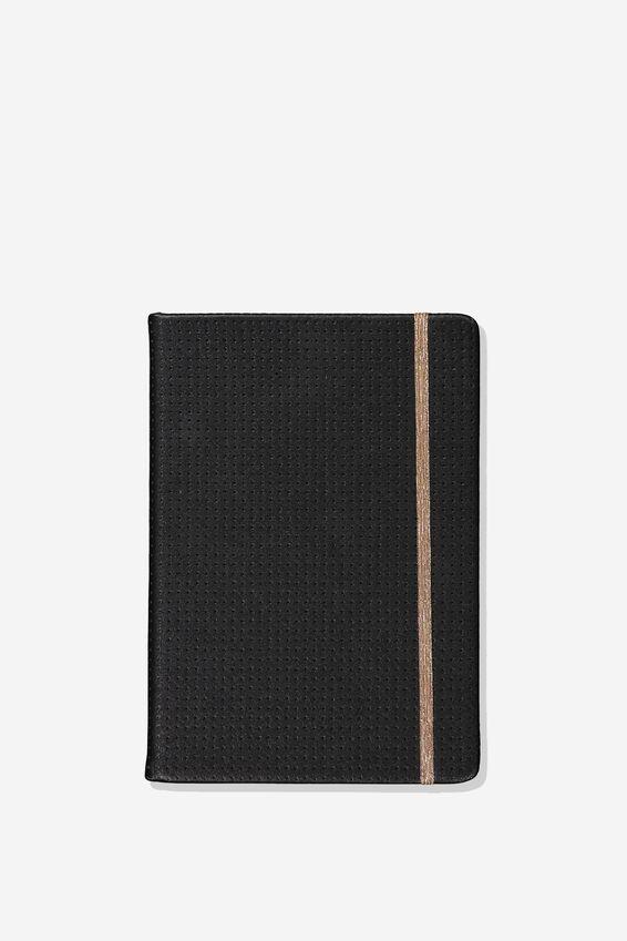 A5 Dot Buffalo Journal, BLACK PERF