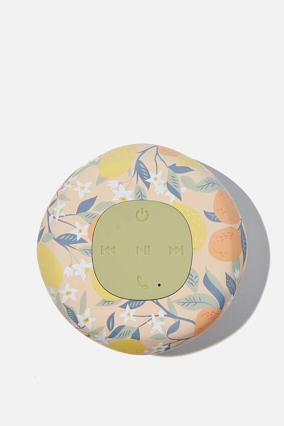 Wireless Shower Speaker, LEMON & CLEMENTINE 2.0